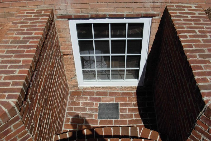 Brick Egress Window