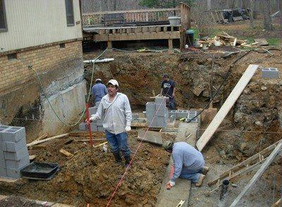 Underpinning Contractor Northern Virginia