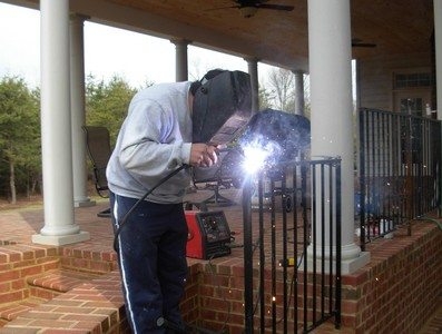 Fairfax Contractor Wrought Iron Railing Repair