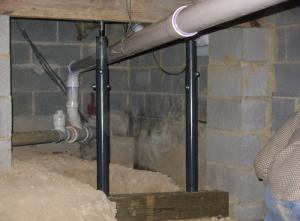 foundation jack installation