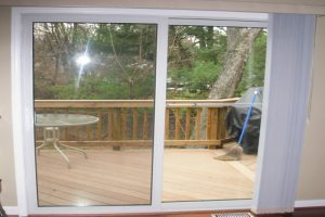 sliding glass door VA