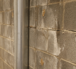 fairfax contractor cracked block joint repair