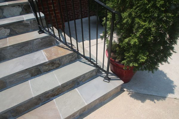 Wrought Iron Railing Repair And Flagstone In Northern Virginia