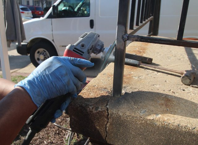 wrought iron-repair-northern- virginia-weldding