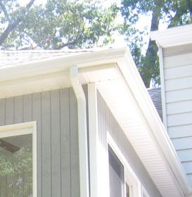 5 inch Gutter installation Fairfax Virginia