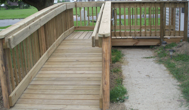 Custom Built ADA Wheelchair Ramp Contractor Northern Virginia