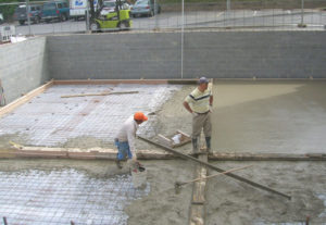 commercial concrete pour northern virginia