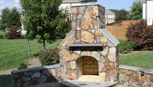Great Falls Outdoorr Fireplace Va Fairfax Contractor