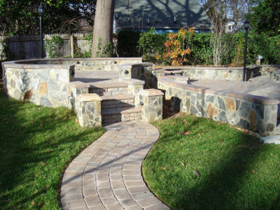 interlocking paver patio annandale virginia