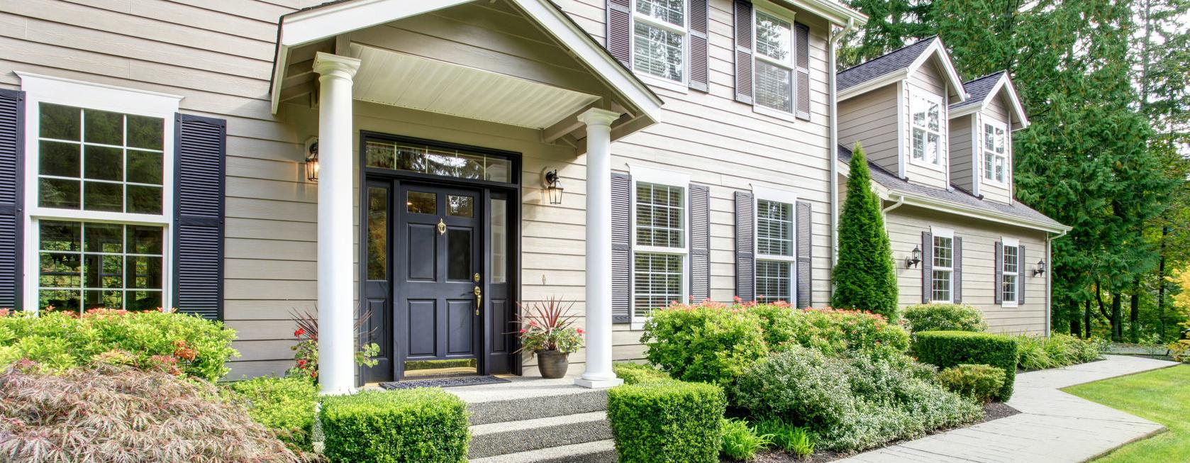 Fairfax porch and portico contractor for Portico porch designs