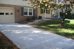 concrete driveway Alexandria VA