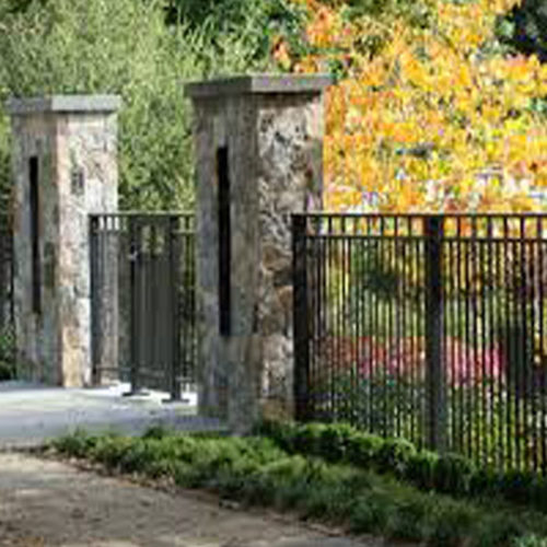 stone-pillars-wrought-iron-fence