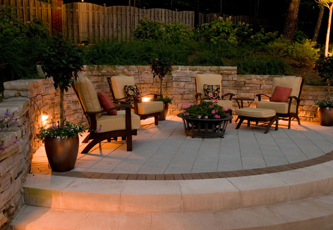 Low voltage lighting northern virginia fairfax contractor low voltage outdoor lighting is great for all areas around a property you can use it on the driveway walkways patios steps entrances and anywhere at workwithnaturefo