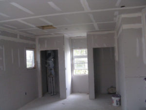 Northern Virginia drywall contractor tape coat