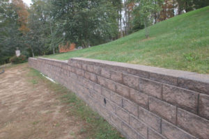 sentimental retaining wall northern Virginia