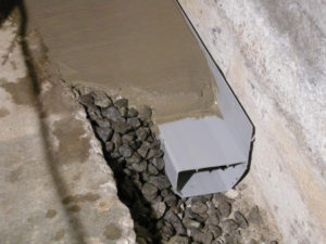 waterguard basement waterproofing system northern virginia