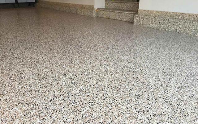 Snowflake Garage Epoxy Flooring Options