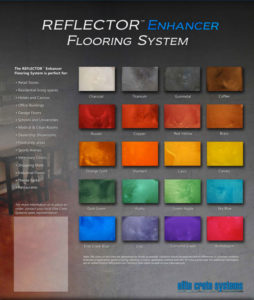 color chart reflector elite crete