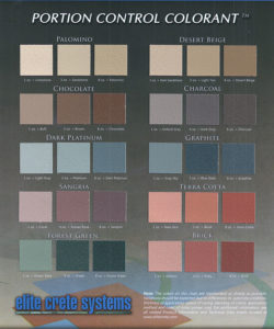 pcc color chart elite crete